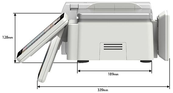 大型カラー画面を堂々搭載。SL-5300